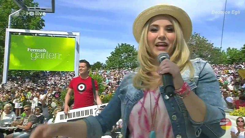 Beatrice Egli Sommer ZDF Fernsehgarten 12 07 2015