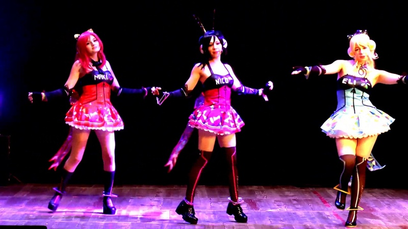 LOVELIVE - BiBi cosplay dance cover