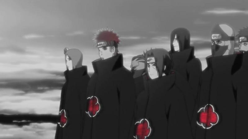 Naruto「AMV」 KONAN против TOBI