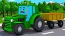 NOVO Trator e Rápido Carro Desenhos animados carros bebês compilação de 54 min