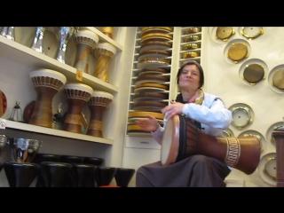 Стамбул . Emin Percussion. Тестирование огромной дохолы.