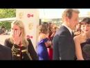 Sam и Caitriona on Red Carpet BAFTA 2018 marks