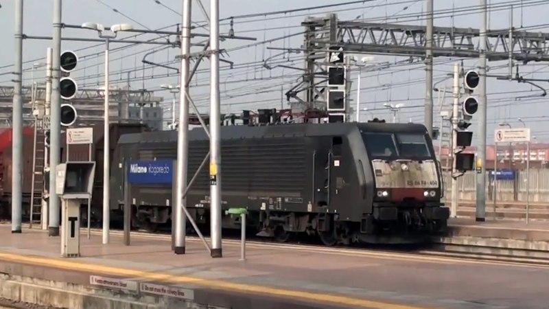 Transiti Milano Rogoredo [Freight High Speed Trains 032013]
