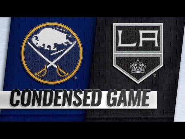 НХЛ-201819. Матч №8. Лос Анджелес - Баффало 15 - Обзор Встречи (20.10.18)