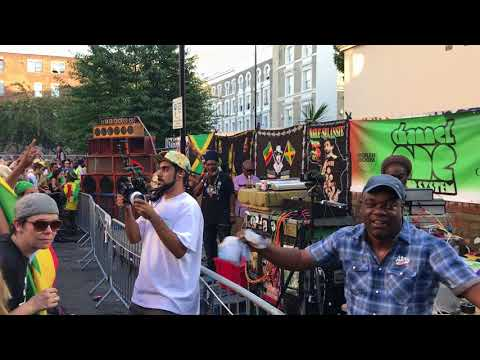 Channel One Sound System @ Notting Hill Carnival 2017 - Indica Dubs - Satta Massagana Dubplate