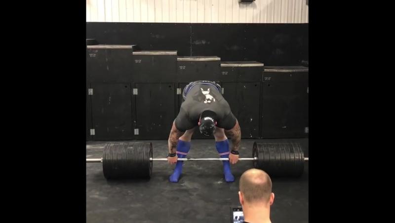 Хафтор Бьернссон, тяга 440 кг (1)