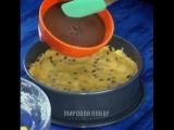 Гигантское печенье с шоколадом.🍫