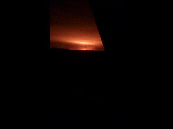 Взрыв газопровода в Рязанской области 03.11.2018