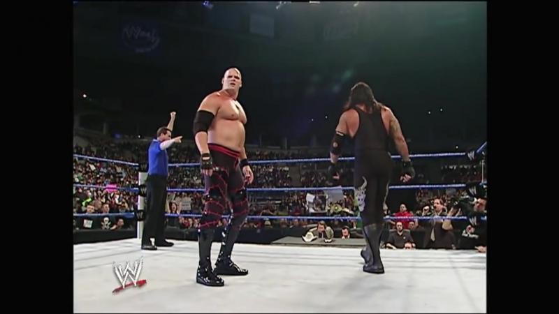 Гробовщик и Кейн пр. МВП и Кеннеди SmackDown 11.03.2006