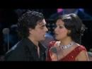 Anna Netrebko and Rolando Villazon sing O soave fanciulla La Boheme by Puccini
