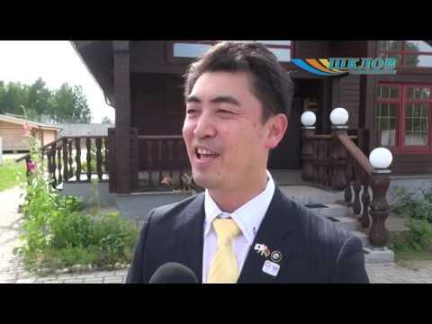 Шкловский район посетила делегация из Японии