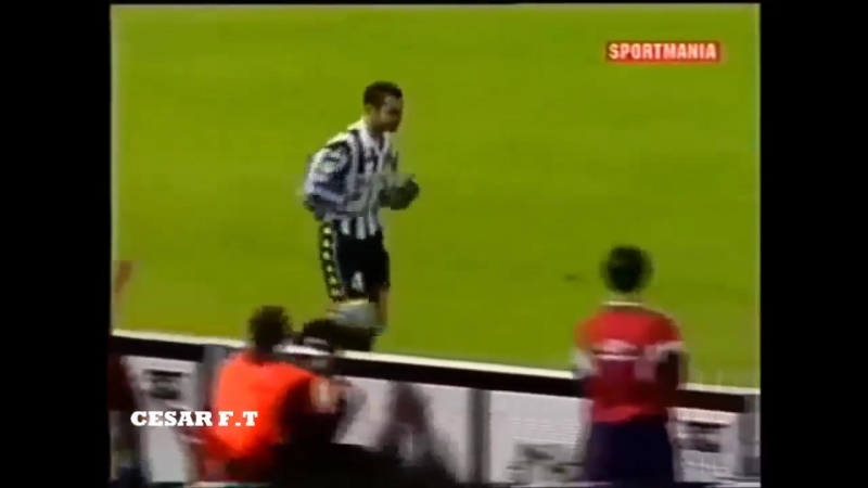 Paolo Montero - Faltas, Patadas y Expulsiones