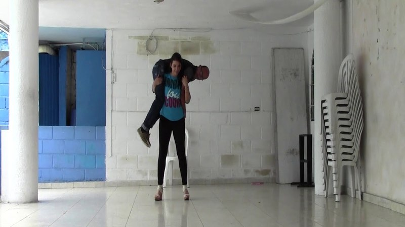 Best Lift and Carry - Part 492 ( Girl lifting guy )