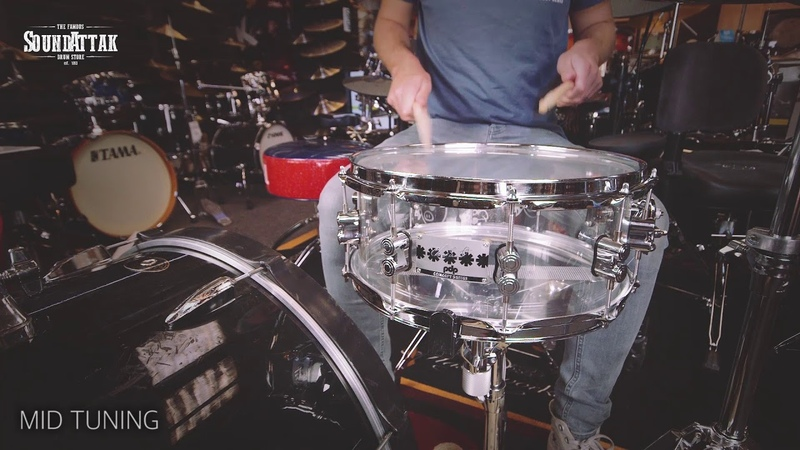 PDP Chad Smith Signature 14x6 Acrylic Snare Drum
