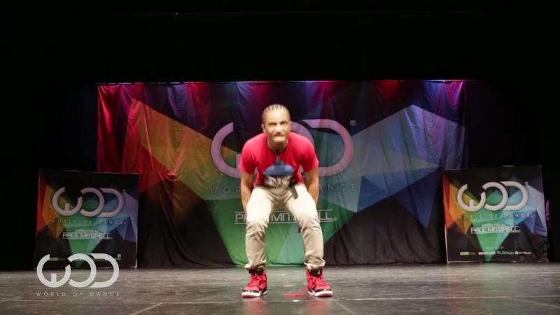 Fik-Shun _ FRONTROW _ World of Dance Las Vegas 2014 WODVEGAS