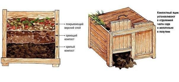 Правила для хорошего компоста.