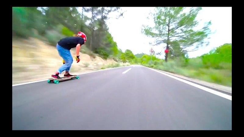 Mind blowing downhill longboarding by DB Longboards!