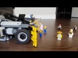 Благодаря Лего-роботу, можно не бояться ходить босиком дома