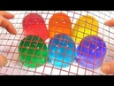 1000 Degree Wire Mesh VS Soft Jelly DIY Learn Colors Slime Clay Glitter Icecream Kinetic Sand Toy