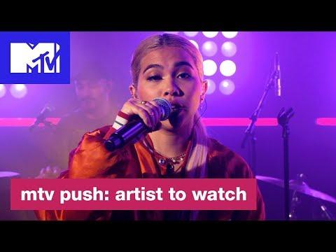 Hayley Kiyoko Performs 'Curious'   MTV Push: Artist to Watch