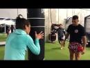 Training Joanna Jedrzejczyk
