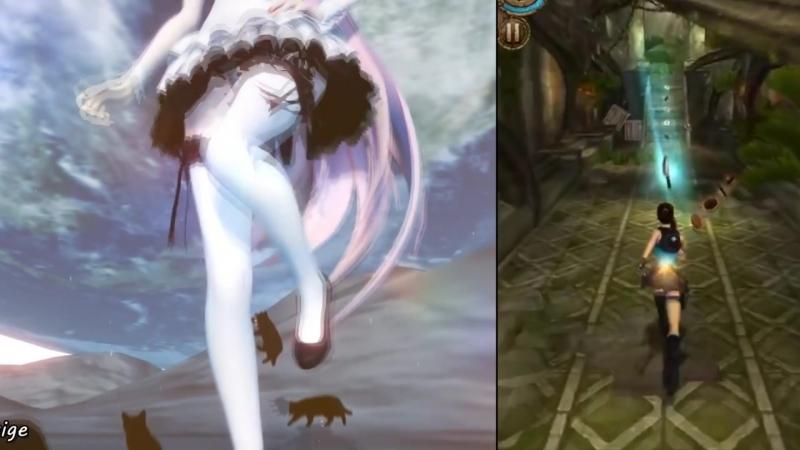 Lara Croft Relic RunРолик с прохождением