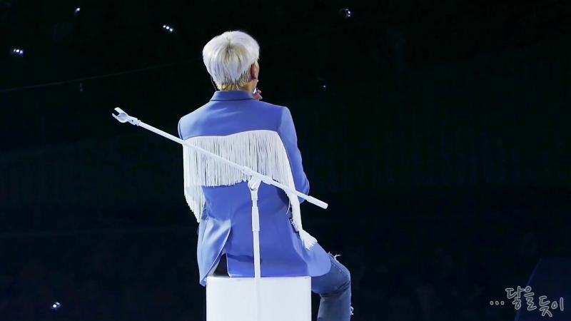 박효신 콘서트中 원더랜드 곡 설명 (무반주 잠깐 불러줌)