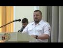 В МВД ЛНР состоялось торжественное вручение Краповых беретов.