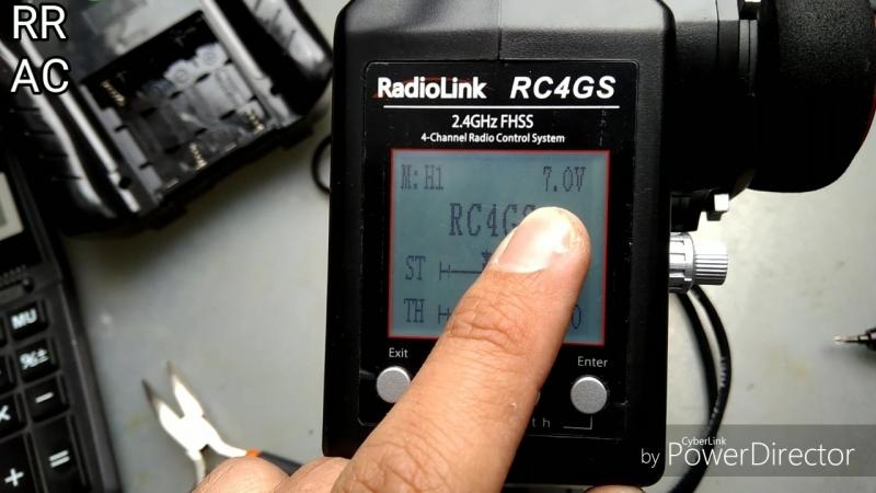 Доработка Radiolink RC4GS. Увеличение времени работы, путём увеличения количества батареек-аккумуляторов.