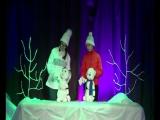 спектакль,,Солнышко и снежные человечки