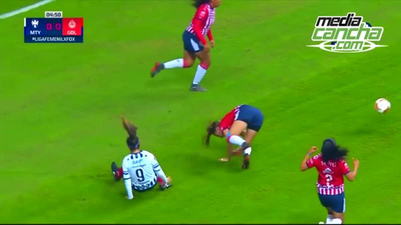 Chivas logra valioso empate 1-1 ante Rayadas