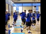 Первая тренировка Коларова в качестве капитана сборной Сербии!