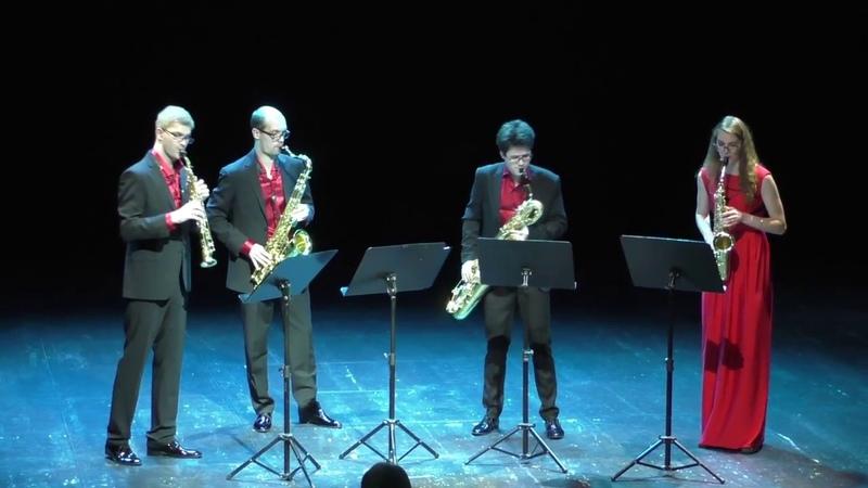 Ad Libitum Saxophone Quartet Adios Nonino