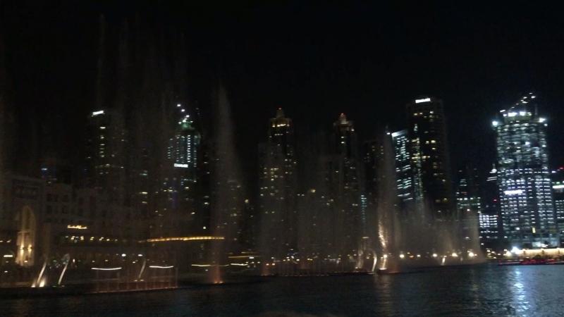 Дубай молл лазер шоу