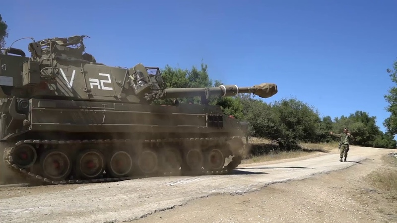 IDF reinforces units in Golan Heights with tanks artillery