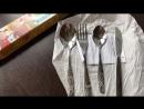 Детский набор столовых приборов «Антошка»