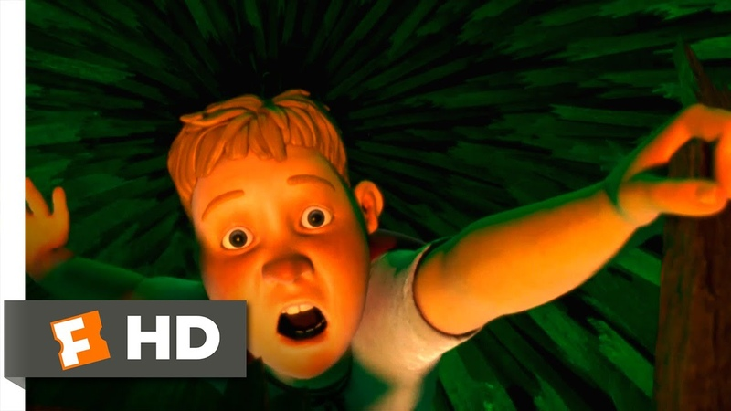 Monster House (6/10) Movie CLIP - Nature's Emergency Exit (2006) HD