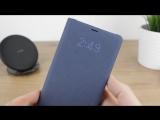 Чехол для Samsung Galaxy S8 G950F книжка оригинальный Led View Cover EF-NG950PBEGRU черный