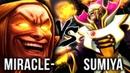 Most EPIC Invoker Battle - Miracle- vs. TOP-1 Invoker Spammer Sumiya - Dota 2