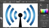 How to Draw WiFi Signal Icon in Adobe Illustrator 2