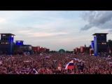 Гимн РФ перед матчем Россия-Египет