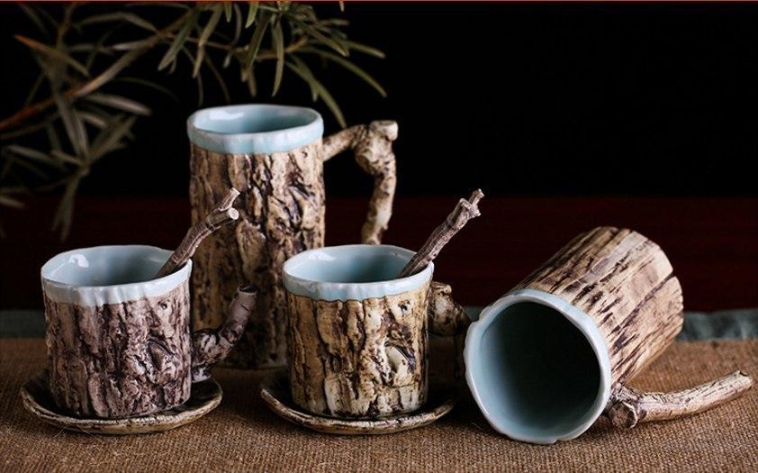 Красивые керамические чашки