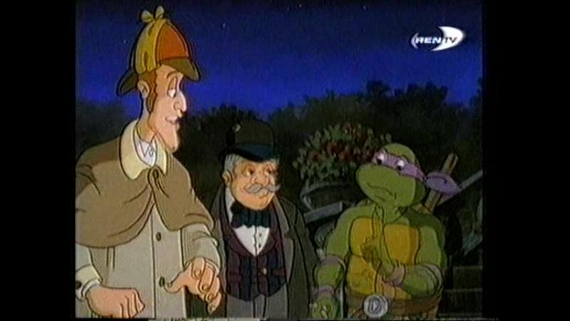 TMNT 1993 серия 7 (Элементарно черепашонок)