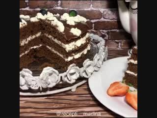 Тортик «Вупи пай» (описание под видео)