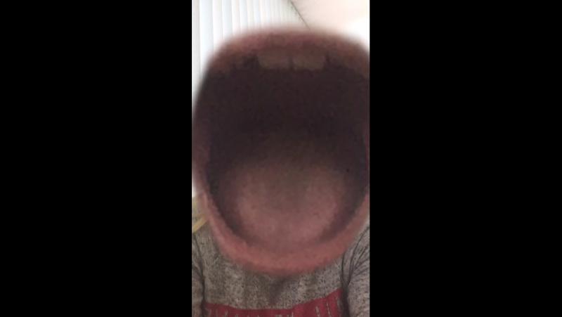 Открой рот