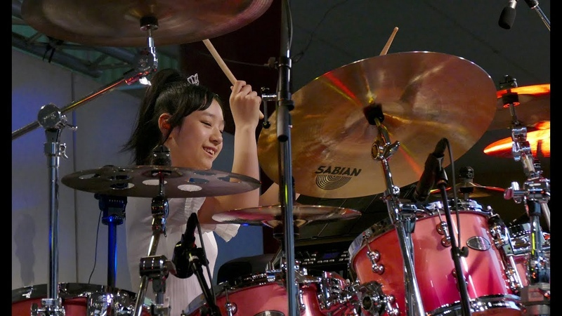 佐藤奏 ドラム Drums Kanade Sato (15YRS OLD) ビナウォーク ミュージックディライト16周年記念