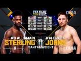 Fight Night Atlantic City: Aljamain Sterling vs Brett Johns