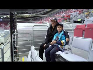 Мое место на арене: Арина Незнамова и Влад Подойников