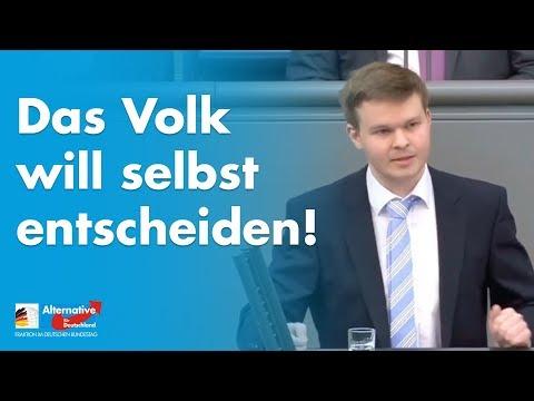 Das Volk will selbst entscheiden! - Dr. Michael Espendiller - AfD-Fraktion im Bundestag
