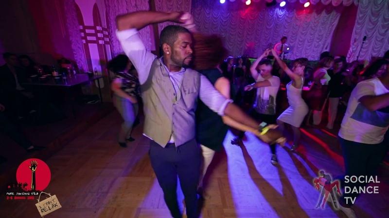 Byron Maria - Salsa social dancing at the 2018 The Third Front Salsa Festival